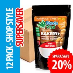 SteviaVital Bakery+ 12 pack