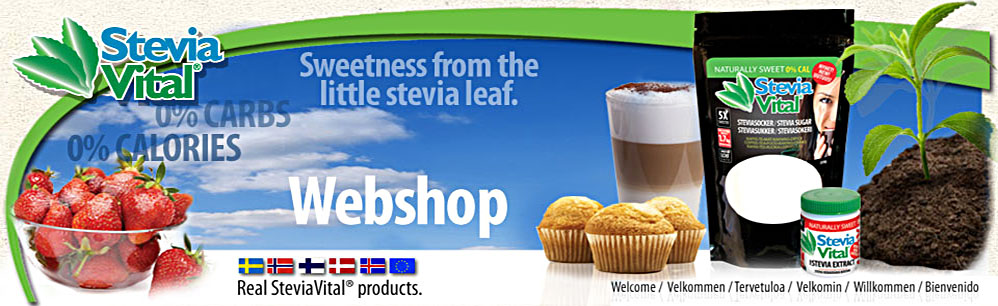 SteviaVital Webshop 